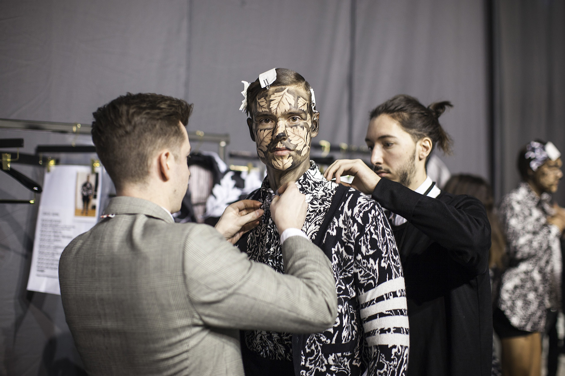 Thom Browne Fall/Winter 2014-2015 : les backstage