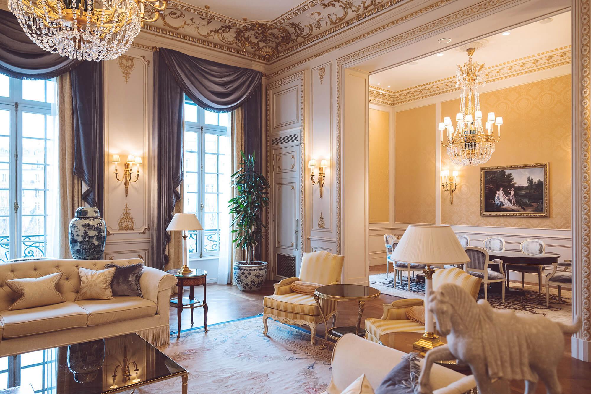 Denni au Shangri-La Paris